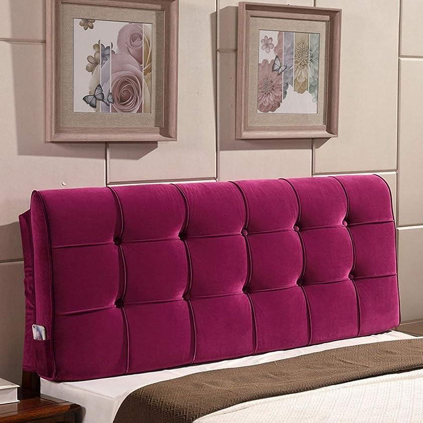決定困惑した父方の10の流行色のラウンジまたはパレット家具のためのベッドのソファーのクッションのためのあと振れ止め (Color : With headboard 10, Size : 180x58x10cm)