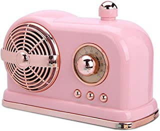 Portable Wireless Bluetooth Speaker,BVI BOOMERVIVI Mini Cute Speaker with Rich Bass,Stereo, Hands-Free Call,Built-in Mic,for Travel, Home,Outdoors (Pink)