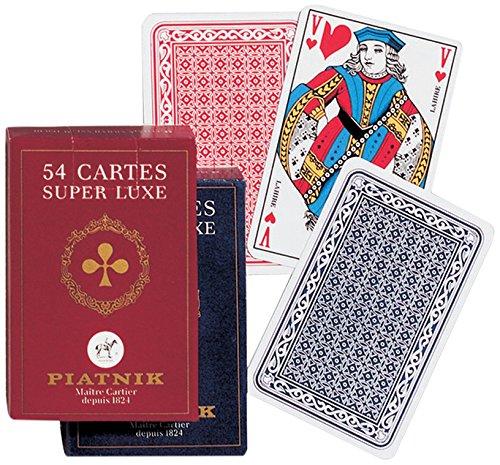 Piatnik- Jeu de Carte Française Etui Carton, 1444