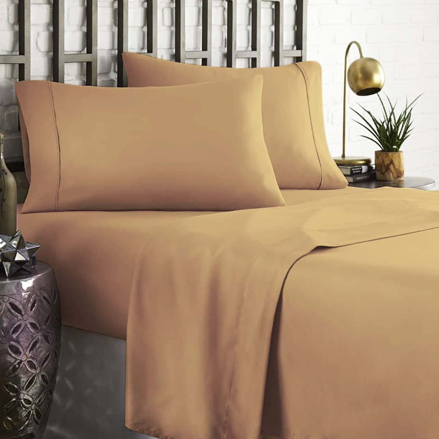 100% Egyptian Cotton 800 Thread Count 4 Sheets OFFicial Sheet Regular store King Piece