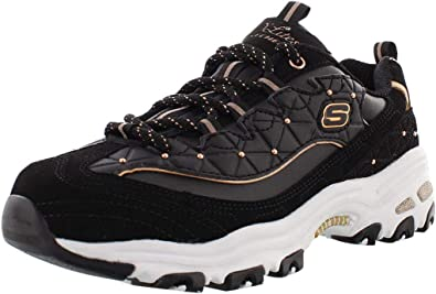 Arriesgado cicatriz hijo  Amazon.com: Skechers D'Lites Zapatilla de deporte para mujer: Shoes