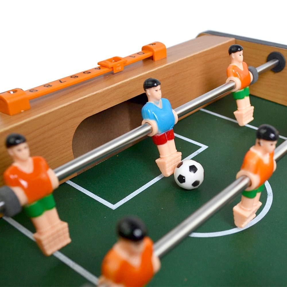 Juguete Futbolín Juegos interior Futbolín mesa pesada barra for sala de juegos Futbolín Tabla funciones Polo jugador Una Mayor Interacción y Diversión (Color : Verde , Size : 48.6x45x8.4cm) : Amazon.es: Hogar