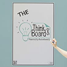 Think Board X Smart Whiteboard Film - Powered by Rocketbook (Large (24