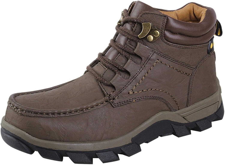 Optimal Mens Outdoor Waterproof Hiking Ankle Boots