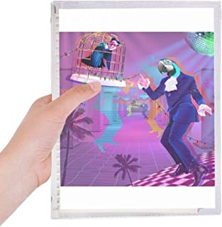 Dance DJ Fantasy Design Notebook Loose Leaf Diary Refillable Journal Stationery