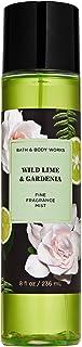 Bath and Body Works WILD LIME & GARDENIA Fine Fragrance Mist 8 Fluid Ounce, 2020 Limited Edition