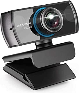 YSY-CY 1080p Full HD Webcam with Stereo Microphone Laptop Webcam,Recording Pro Video Web Camera, Manual Focus Camera for V...