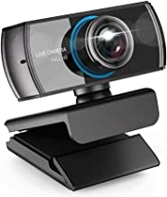 WDFDZSW 1080p Full HD Webcam with Stereo Microphone Laptop Webcam,Recording Pro Video Web Camera, Manual Focus Camera for ...