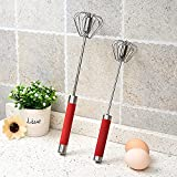 MRYZZ Herramienta de la cocina de batido de mano Set de batidor de acero inoxidable 8'10' 12'Cocina batidor de baño batidor de baño batidor de alambre para cocinar, batidor, mezcla, paliza, paquete