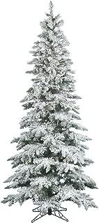 Best slim flocked christmas tree clearance Reviews