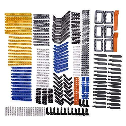 Technic Liftarm Brick Separator Chassis Frame Liftarm Beam Rotor Helicopter - 280 Pieces Beams Axles Connectors Bricks Sets Technic Beams Technic Parts