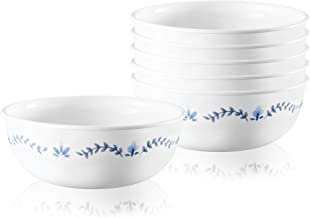 Corelle 1137570 Style Collection Soup and Cereal Bowls, 6-Piece, Portofino