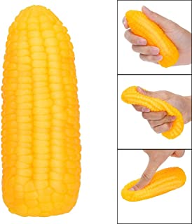 Clearance Sale!DEESEE(TM)🍁🍁Squeeze Toy Fidget Hand Toy Stress Relief Corn Decoration Toy Mochi Squeeze Ball