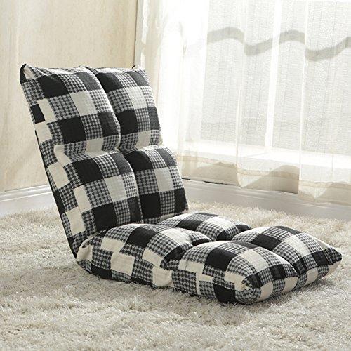 Silla del piso,Sofá de tatami sofá plegable perezoso-Camas lounge chair silla de...
