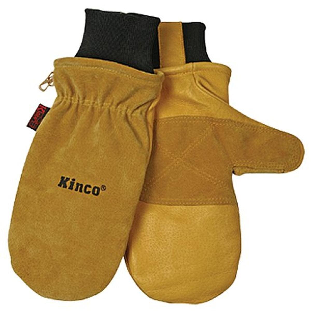 KINCO Max 52% OFF Manufacturer OFFicial shop 901T-L Men's Pigskin Skin Gloves Therma Heat Keep Mitten