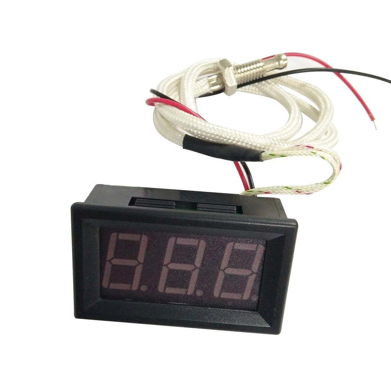 追うブレンドラバMolySun ミニポータブル熱電対計LEDディスプレイ工業用デジタル温度計-30?800℃K型工業用ゲージXH-B310