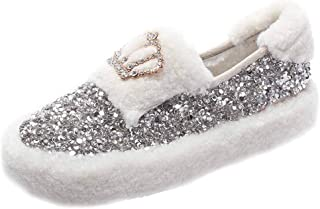 ZOSYNS Dames schoenen winter katoenen schoenen outdoor wandelschoenen warm gevoerd mode casual gezellige anti-slip outdoor...