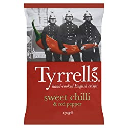 Tyrrell's Sweet Chilli and Red Pepper Crisps, 150g