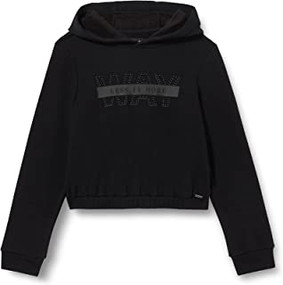 IKKS Sweat-Shirt Noir À Capuche Sweatshirt Fille