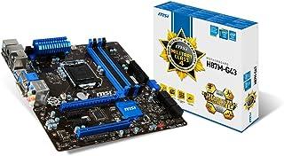 MSI H87M-G43 m-ATX Motherboard (Intel H787, 4X DDR3, DVI, HDMI, 4X USB3.0, GBE LAN, LGA1150 Socket)