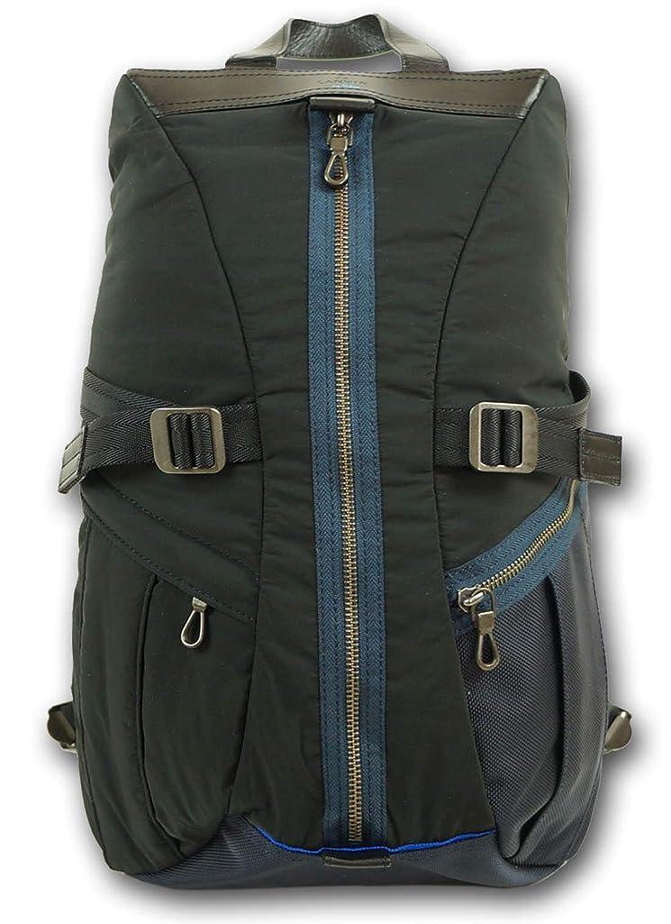 湿地電子空虚(ランバンオンブルー)LANVIN en Bleu リュック メンズ ブラック 黒 定価33,000円+税