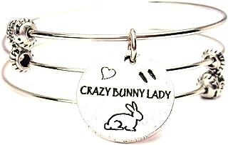 Crazy Bunny Lady Triple Style Bracelet