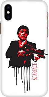 Stylizedd iPhone XS Max Slim Snap Classic Case Cover Matte Finish - Scarface