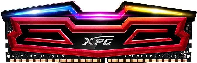 XPG Spectrix D40 RGB 3000MHz 16GB (2x8GB) 228-Pin PC4-19200 Desktop U-DIMM Memory Dual Retail Kit Multi-Colored (AX4U300038G16-DRS)