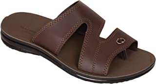 BATA Men Brown Slip On Sandal Chappal