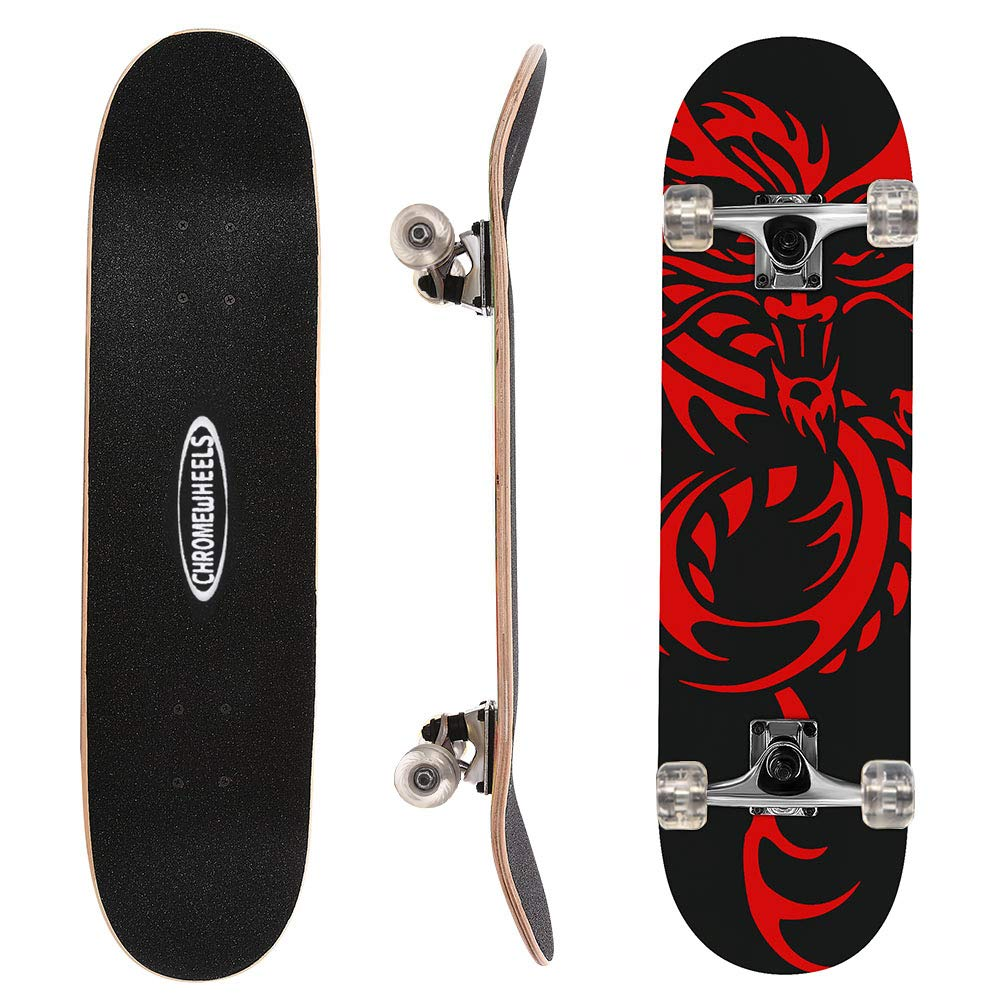 ChromeWheels Skateboard Complete Longboard Outdoors