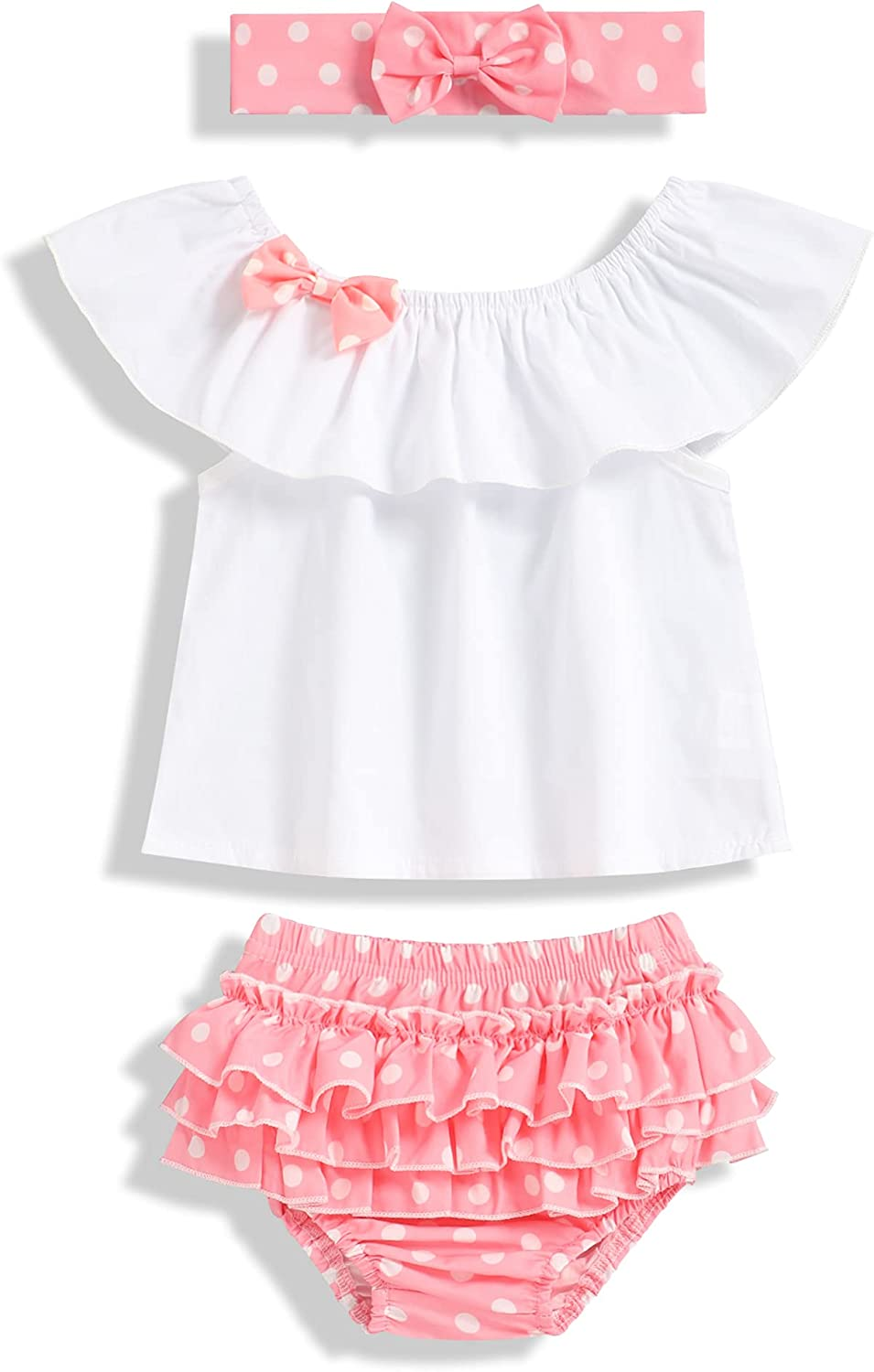 Newborn Baby Girl Clothes Red Dot Romper Ju Ruffle Shipping included Cute Max 41% OFF Backless