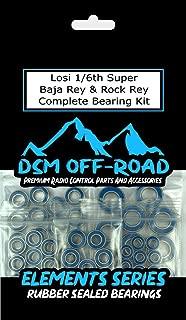 Losi 1/6 Super Baja Rey & Rock Rey Complete Sealed Bearing Kit Set (25 Bearings)