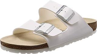 Birkenstock Arizona Birko-Flor White Sandals 38 N