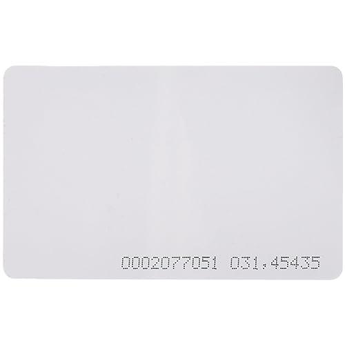 50 Stück, 125 KHz EM4100, 2. Generation-Berührungsloser RFID Proximity ID-Zugangskontrollsystem