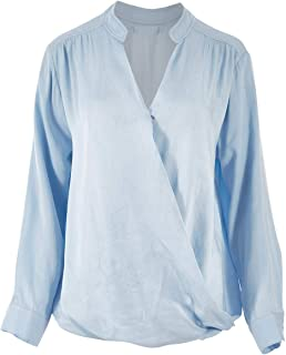 Bird Keepers Womens Blouses The Daily Cross Over Top - Tops