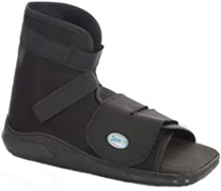 Darco International Slimline Cast Boot Black Square-Toe, Adult Small, 0.6 Pound