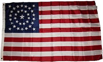 3X5 Usa American 34 Stars Union Civil War Circular Flag 3'X5' Banner Grommets