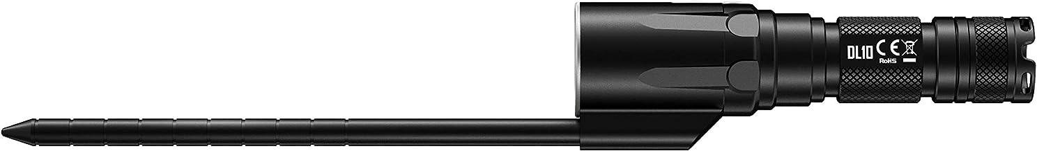 مصباح غوص تحت الماء من نايت كور DL10 1000، أسود/أبيض/أحمر، 30 متر