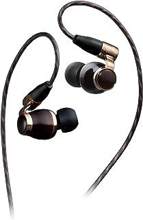 Victor JVC HA-FW10000 WOODシリーズ カナル型イヤホン リケーブル/ハイレゾ音源対応 ブラック
