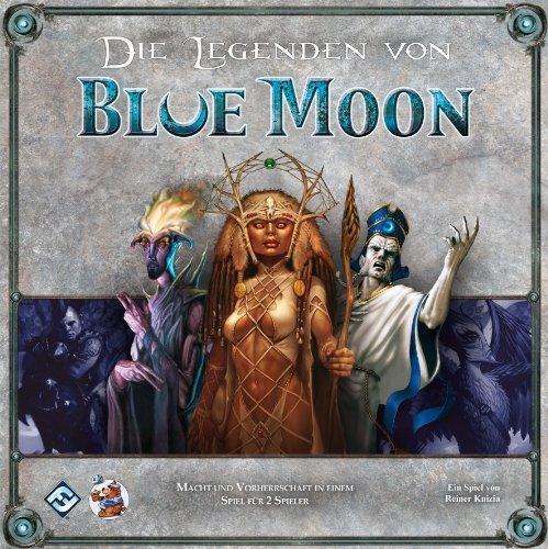 Asmodee HE566 - Die Legenden von Blue Moon, Kartenspiel