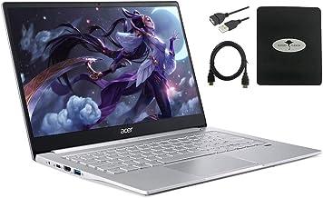 "2020 Newest Acer Swift 3 14"" FHD Thin & Light Laptop, AMD Ryzen 5 4500U(up to 4.0GHz), 8GB RAM, 512GB PCIe SSD, Backlit KB..."