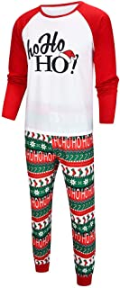 Parent-Child Shirt Family Clothes Outfits Man Dad Christmas Letter Printed Long Sleeve Tops T-Shirt + Pants Trousers