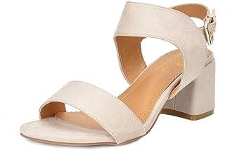 9bb82608c84 DREAM PAIRS Women s Duchess Heel Sandals