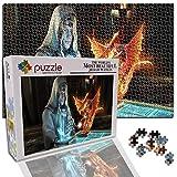 GFSJJ 1000 Piezas Puzzles para Adultos Fantasía De Hombre Y Dragón Puzzles para Niño Infantiles Adolescentes Adultos para Ejercitar La Lógica Y La Coordinación (15 X 10.2 Pulgada)