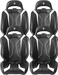 Pro Armor White RZR Suspension Seat 2011-2019 Polaris RZR XP 1000 Turbo 4 S, 4 Pack