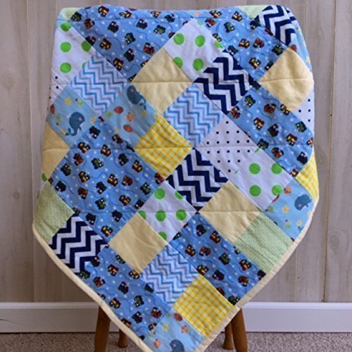 Rustic Crib Bedding Baby Boy Quilt Handmade Newborn Gift