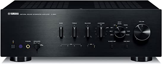 Yamaha Integrated Amplifier (Black) Yamaha A-s801b (Japan Imports)