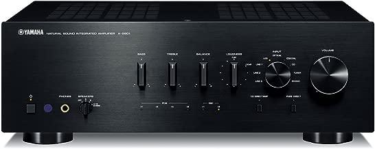 Yamaha Integrated Amplifier (Black) Yamaha A-s801b (Japan Imports)