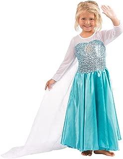Heart To Heart Butterfly Craze Girls Snow Queen Costume Snow Princess Dress - 3 Years