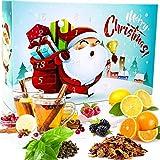 C&T Tee Adventskalender 2020 für Kinder | 24 à 25 g koffeinfreien & losen Früchte + Rooibos + Kräutertees für die ganze Familie